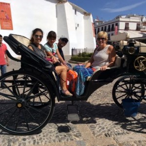 Ride through Ronda