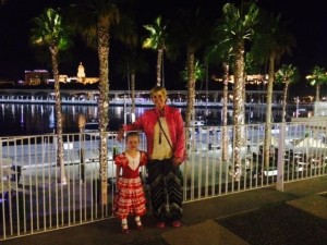 Ellie & Laurie at Malaga Port