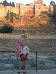 Roman ruins in Malaga