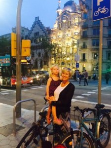 Ellie & Laurie in Barcelona