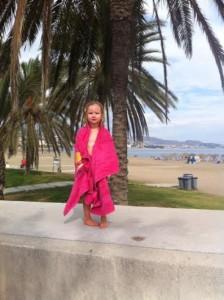 Ellie Malaga beach
