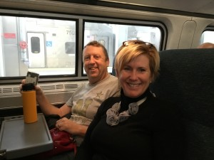 RIding Amtrak from BWI to NYC