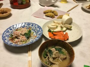 Delicious Homemade Japanese Meal