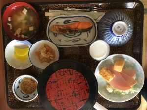 Japanese Breakfast at Ryokan
