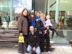 With the best tour guides - our 'host family' in Stuttgart