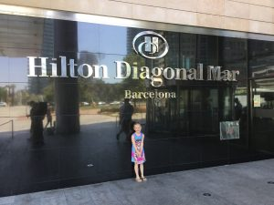 ELlie at Hilton Diagonal Mar