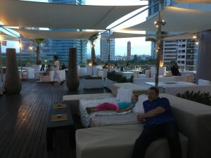 COol Purobeach Lounge Area