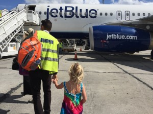 FLying Jet Blue in Cuba