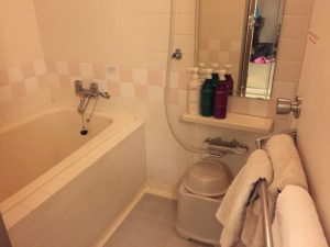 Bath and Shower at APA hotel