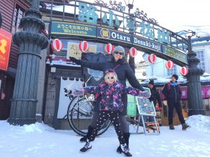 Laurie & Ellie in Otaru