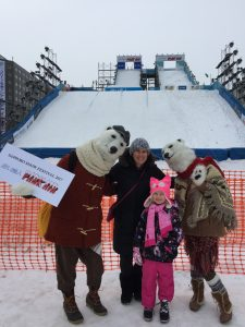 Laurie & Ellie at Sapporo Snow Festival