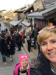 Laurie & Ellie in KYoto