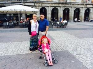 Laurie Eduardo & Ellie in Madrid