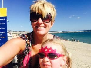 Laurie & Ellie Llevant Beach