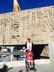 Laurie & Ellie in Madrid