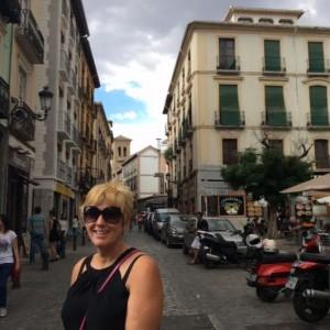Laurie in Granada