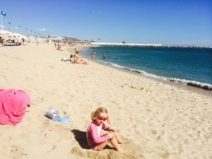 Llevant Beach Barcelona
