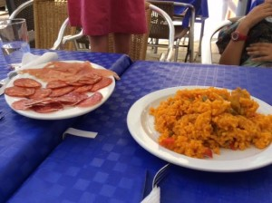 Spanish lunch