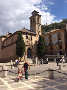 Touring beautiful Granada