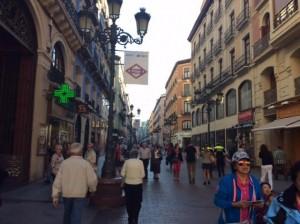 Zaragosa streets