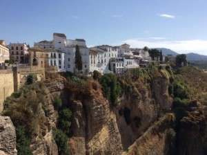 cliff houses of Ronda