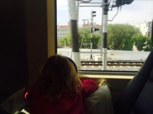 riding the rails in Spain