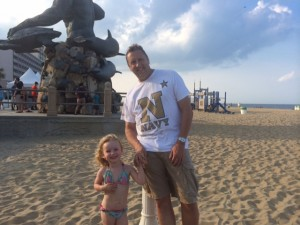 Ellie and Brian at 31st Street Va Beach